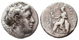 Lysimachus (323-281 BC). AR drachm Condition: Very Fine    Weight: 4 gr Diameter: 16 mm