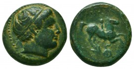 Kings of Macedon. Philip II (359-336 BC). AE Condition: Very Fine    Weight: 5,7 gr Diameter: 18 mm