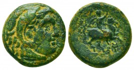 KINGS OF MACEDON. Kassander, 305-298 BC. AE Condition: Very Fine    Weight: 5,7 gr Diameter: 18 mm