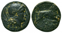 Lysimachus (323-281 BC). Ae