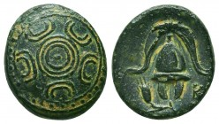 Kings of Macedon. Alexander III 'the Great' (336-323 BC). Ae Condition: Very Fine    Weight: 3,7 gr Diameter: 16 mm