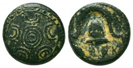 Kings of Macedon. Alexander III 'the Great' (336-323 BC). Ae Condition: Very Fine    Weight: 3,6 gr Diameter: 14 mm