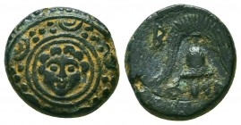 Kings of Macedon. Alexander III 'the Great' (336-323 BC). Ae Condition: Very Fine    Weight: 3,6 gr Diameter: 15 mm