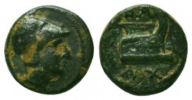 Kings of Macedon. Demetrios I Poliorketes 306-283 BC. Condition: Very Fine    Weight: 1,6 gr Diameter: 11 mm