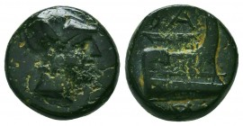 Kings of Macedon. Demetrios I Poliorketes 306-283 BC. Condition: Very Fine    Weight: 4,2 gr Diameter: 14 mm