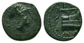 Kings of Macedon. Demetrios I Poliorketes 306-283 BC. Condition: Very Fine    Weight: 1,4 gr Diameter: 12 mm