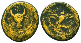 Aspendos , Pamphylia. AR c. 380-325 BC Condition: Very Fine    Weight: 7,1 gr Diameter: 20 mm
