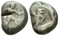 Aspendos , Pamphylia. AR c. 380-325 BC Condition: Very Fine    Weight: 10,4 gr Diameter: 19 mm