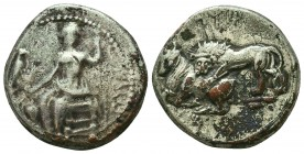 Sinope , Paphlagonia. AR Drachm , c. 410-350 BC. Condition: Very Fine    Weight: 9,8 gr Diameter: 23 mm