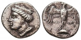 Sinope , Paphlagonia. AR Drachm , c. 410-350 BC. Condition: Very Fine    Weight: 5,2 gr Diameter: 19 mm