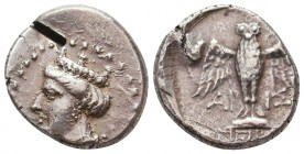 Sinope , Paphlagonia. AR Drachm , c. 410-350 BC. Condition: Very Fine    Weight: 5,5 gr Diameter: 19 mm