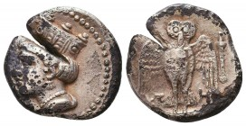 Sinope , Paphlagonia. AR Drachm , c. 410-350 BC. Condition: Very Fine    Weight: 5,2 gr Diameter: 18 mm