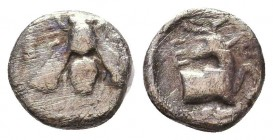 Ephesos AR Obol, c. 202-150 BC Condition: Very Fine    Weight: 0,5 gr Diameter: 9 mm