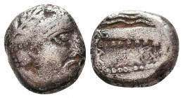 Arados, Phoenicia. AR c. 348/7-339/8 BC. Condition: Very Fine    Weight: 2,7 gr Diameter: 12 mm