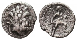 Greek Coins , Ar Silver Condition: Very Fine    Weight: 1.7 gr Diameter: 14 mm