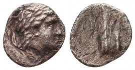 Greek Coins , Ar Silver Condition: Very Fine    Weight: 1.9 gr Diameter: 13 mm
