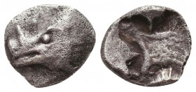 PHOKIS, . Circa 478-460. AR Rare Obol