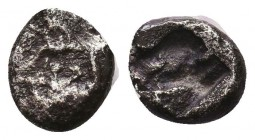 Greek AR Silver Obol, Ca. 350-300 BC.  Condition: Very Fine    Weight: 0.6 gr Diameter: 7 mm
