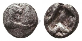 LYDIAN KINGDOM. Croesus (ca. 561-546 BC). RARE obol