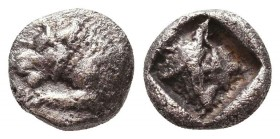 Greek AR Silver Obol, Ca. 350-300 BC.  Condition: Very Fine    Weight: 0.8 gr Diameter: 8 mm