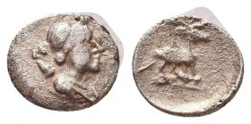 Greek AR Silver Obol, Ca. 350-300 BC.  Condition: Very Fine    Weight: 0,4 gr Diameter: 8 mm