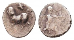 Greek AR Silver Obol, Ca. 350-300 BC.  Condition: Very Fine    Weight: 0,3 gr Diameter: 8 mm