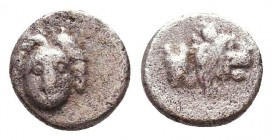 Greek AR Silver Obol, Ca. 350-300 BC.  Condition: Very Fine    Weight: 0,4 gr Diameter: 7 mm