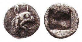 Greek AR Silver Obol, Ca. 350-300 BC.  Condition: Very Fine    Weight: 0,2 gr Diameter: 6 mm
