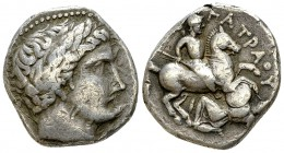 Eastern Celts AR Tetradrachm, Imitation of Patraos 