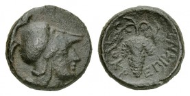 Lokris AE12, c. 325-300 BC 