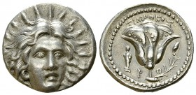 Rhodos AR Didrachm, Timotheos magistrate 