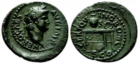 Nero AE Semis, c. 64 AD 