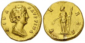 Faustina I AV Aureus, Ceres reverse 