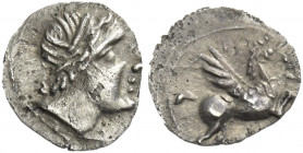 Greek Coins. Emporion. 