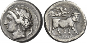 Greek Coins. Neapolis. 