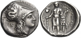 Greek Coins. Lucania, Heraclea. 