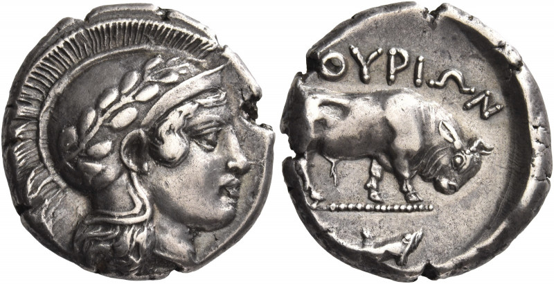 Greek Coins. Sybaris as Thurium. 