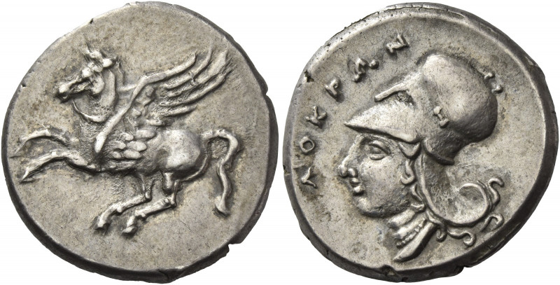 Greek Coins. Locri. 