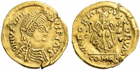 The Ostrogoths. The Lombards, Lombardy. 