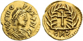 The Ostrogoths. Unattributed coins of the Germanic tribes. 
