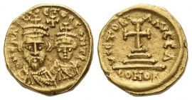 The Byzantine Empire. Heraclius, 5 October 610 – 11 January 641, with colleagues from January 613.