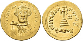 The Byzantine Empire. Constans II, September 641 – 15 July 678, with colleagues from 654. 