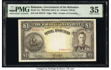 Bahamas Bahamas Government 1 Pound 1936 (ND 1947) Pick 11e PMG Choice Very Fine 35.   HID09801242017  © 2020 Heritage Auctions | All Rights Reserved
