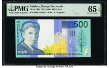 Belgium Banque Nationale de Belgique 500 Francs ND (1998) Pick 149a PMG Gem Uncirculated 65 EPQ.   HID09801242017  © 2020 Heritage Auctions | All Righ...