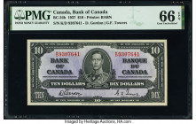 Canada Bank of Canada $10 2.1.1937 Pick 61b BC-24b PMG Gem Uncirculated 66 EPQ.   HID09801242017  © 2020 Heritage Auctions | All Rights Reserved