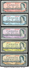 Canada Group Lot of 5 Examples Very Fine-About Uncirculated.   HID09801242017  © 2020 Heritage Auctions | All Rights Reserved