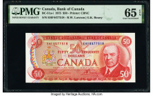 Canada Bank of Canada $50 1975 Pick 90a BC-51a-i PMG Gem Uncirculated 65 EPQ.   HID09801242017  © 2020 Heritage Auctions | All Rights Reserved