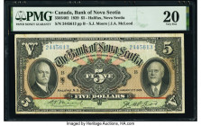 Canada Halifax, NS- Bank of Nova Scotia $5 2.1.1929 Pick S622 Ch.# 550-34-02 PMG Very Fine 20.   HID09801242017  © 2020 Heritage Auctions | All Rights...