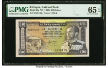 Ethiopia National Bank 100 Dollars ND (1966) Pick 29a PMG Gem Uncirculated 65 EPQ.   HID09801242017  © 2020 Heritage Auctions | All Rights Reserved