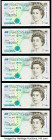 Great Britain Bank of England 5 Pounds 1990 (ND 1991-98) Pick 382b 10 Consecutive Examples Uncirculated.   HID09801242017  © 2020 Heritage Auctions | ...